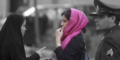 Woman yelled at for the way she wears her veil
